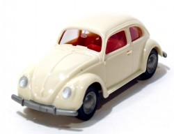 VW Fusca 1200 Double Windows Beje 1/87 Wiking  - foto principal 1