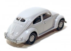 VW Fusca 1200 Double Window Cinza 1/87 Wiking  - foto principal 2