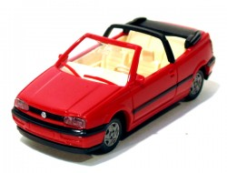 VW Golf Cabrio Red 1/87 Wiking  - foto principal 1
