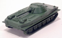 Tanque Militar Schwimmpanzer PT76 1/87 MAB Made in Germany  - foto principal 1