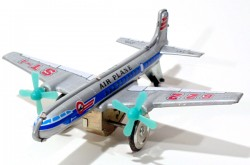 AVION MF107 - AIR PLANE (622 ST-) VINTAGE FRICTION TIN TOY - ORIGINAL BOX  - foto principal 1