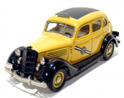 Ford 1935 Fordor Taxi Yellow Cab 1/43 Rextoy  - foto principal 1