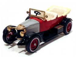 Prince Henry Vauxhall 1914 Red 1/47 Matchbox Models of Yesteryear Y 02  - foto principal 1