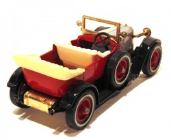 Prince Henry Vauxhall 1914 Red 1/47 Matchbox Models of Yesteryear Y 02  - foto principal 2