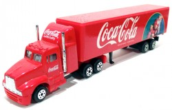 Caminhão Coca-Cola American Truck 1/87 Made in China  - foto principal 1