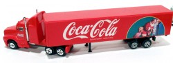 Caminhão Coca-Cola American Truck 1/87 Made in China  - foto principal 2