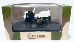 Jeep Willys Armoured Car General Leclerc 1/43 Victoria  - foto principal 4