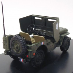 Jeep Willys Armoured Car General Leclerc 1/43 Victoria  - foto principal 3