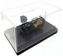 Jeep Willys Armoured Car General Leclerc 1/43 Victoria  - foto principal 5