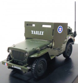 Jeep Willys Armoured Car General Leclerc 1/43 Victoria  - foto principal 1