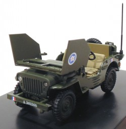 Jeep Willys Armoured Car General Leclerc 1/43 Victoria  - foto principal 2