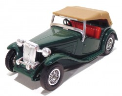 MG TC 1945 1/35 Matchbox Models Of Yesteryear Y-8  - foto principal 1