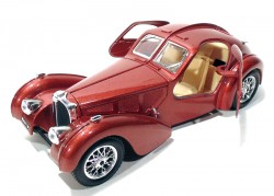 Bugatti Atlantic 1936 1/24 Burago made in Italy  - foto principal 3