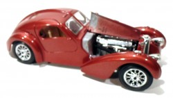 Bugatti Atlantic 1936 1/24 Burago made in Italy  - foto principal 4