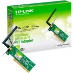Adaptador PCI Express Wireless TL-WN751ND 150Mbps TP-LINK