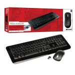 Kit Teclado e Mouse Microsoft Wireless Desktop 800