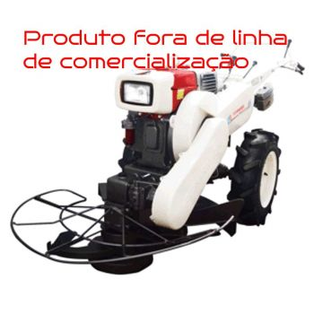 Microtrator a Diesel Yanmar Agritech TC-12 com Roçadeira Frontal TA-72C