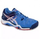 Tênis Asics Gel Resolution 6 Powder Blue Feminino All Court
