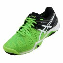 Tênis Asics Gel Resolution 6 Flash Green White Black All Court