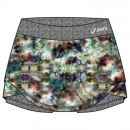 Saia Shorts Asics W Abby Skort Print Heather Grey