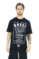 Camiseta Bones Cotton Black