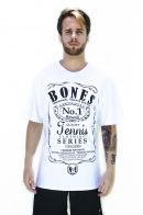 Camiseta Bones Cotton White