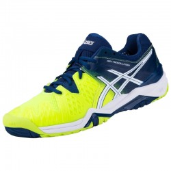 Tênis Asics Gel Resolution 6 Safety Yellow Poseidon All Court  - foto principal 2