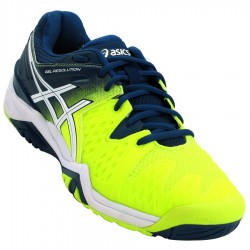 Tênis Asics Gel Resolution 6 Safety Yellow Poseidon All Court  - foto principal 1