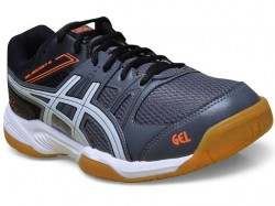 Tênis Asics Gel Rocket 7 A Charcoal White Black  - foto principal 1