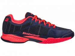 Tênis Babolat JET Team All Court Men Blue/Red  - foto principal 3