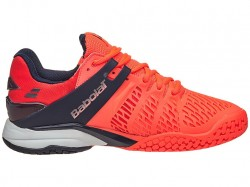 Tênis Babolat Propulse Fury All Court Men Fluo Red  - foto principal 2