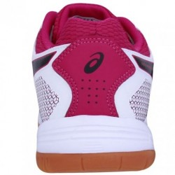 Tênis Asics Gel Rocket 8 A White Black Bright Rose Feminino  - foto principal 5