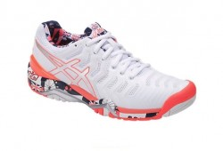 Tênis Asics Gel Resolution 7 L.E. London Wimbledon Feminino  - foto principal 1