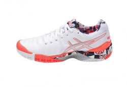 Tênis Asics Gel Resolution 7 L.E. London Wimbledon Feminino  - foto principal 4