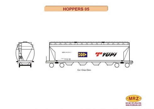 Decal Vagão Hopper - MRZ – HOP05  - foto 2