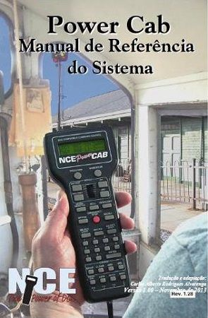 Manual de Referência do Power Cab da NCE - CARLÃO - MA09