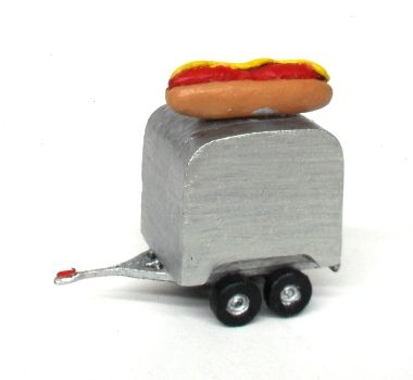 Trailer de Hot Dog - MORADA DO HOBBY - MH239  - foto 2