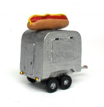 Trailer de Hot Dog - MORADA DO HOBBY - MH239  - foto principal 1