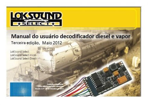 Manual do Usuário Som Diesel e Vapor LokSound Select ESU - CARLÃO - MA12