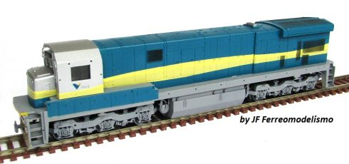 Locomotiva C30-7 Customizada VALE - CU109