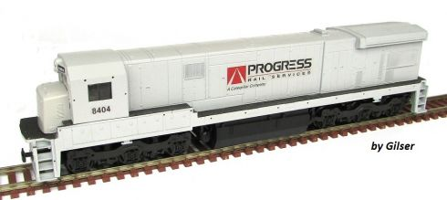 Locomotiva C30-7 Customizada PROGRESS RAIL Fase I - CU110