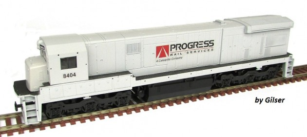 Locomotiva C30-7 Customizada PROGRESS RAIL Fase I - CU110  - foto principal 1