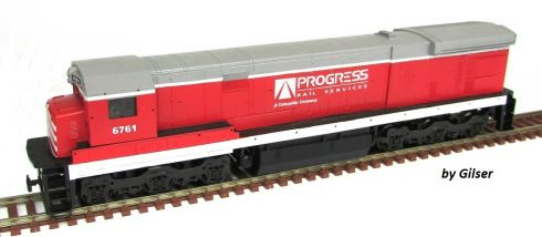 Locomotiva C30-7 Customizada PROGRESS RAIL Fase II - CU111