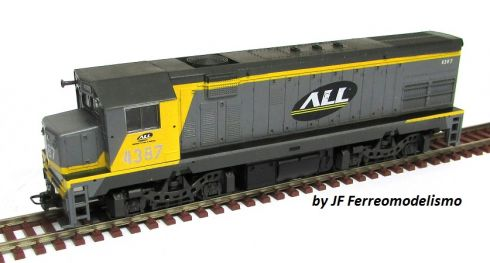 Locomotiva G22U Customizada ALL Fase I - CU102