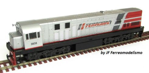 Locomotiva U20C Customizada FERROBAN - CU105
