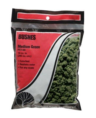 Bushes Medium Green - WOODLAND - WOOFC146