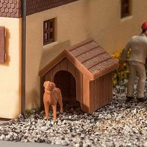 Kit Dog & Kennel (Doghouse) - FALLER - 180939