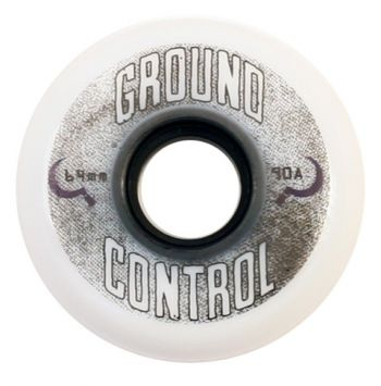 Rodas Ground Control 64 mm/ 90A Roda Branca