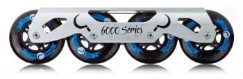 Base Ground Control Freeskate Frame + Roda GC 80mm + Titen Abec 9