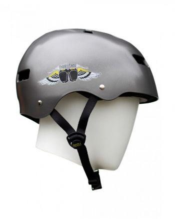 Capacete Niggli Pads Iron Light Titanium